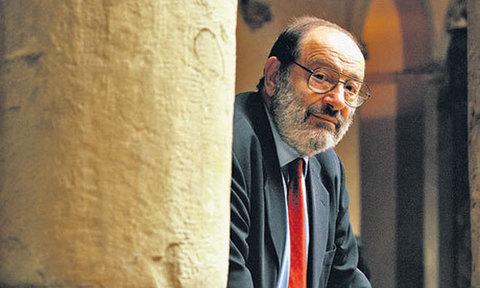 Umberto Eco. Foto  Il Messaggero