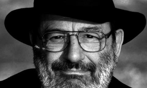 Umberto Eco. Foto de Sergio Siano. Il Messaggero