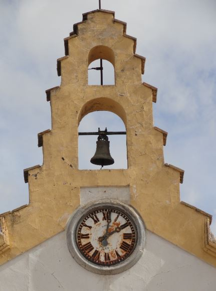 La espadaña. Santa Eulalia. Foto R.Puig