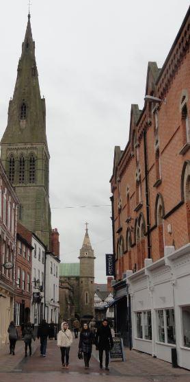 Por el viejo Leicester. Foto R.Puig