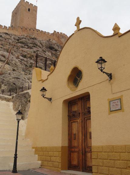 Sax. Ermita de San Blás.. Foto R.Puig