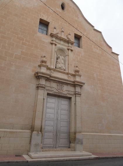Sax. Puerta renacentista. Iglesia de la Asunción. Foto R.Puig