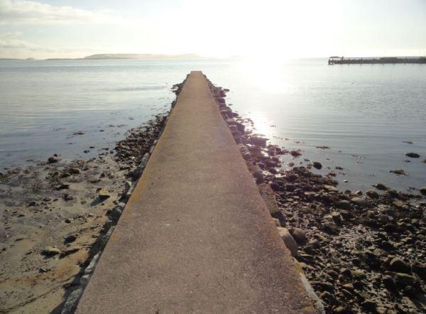 Tarde de febrero en la orilla. Foto R.Puig
