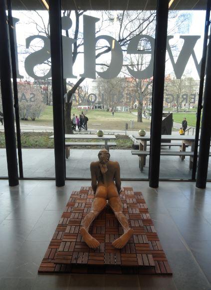Desde el interior del Museo Sven Harrys. Estocolmo. Foto R.Puig