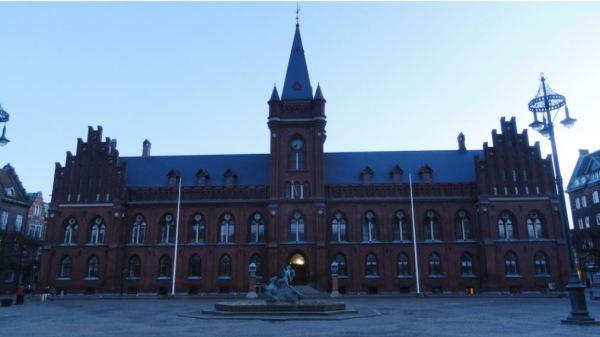 El ayuntamiento de Landskrona. Foto R.Puig