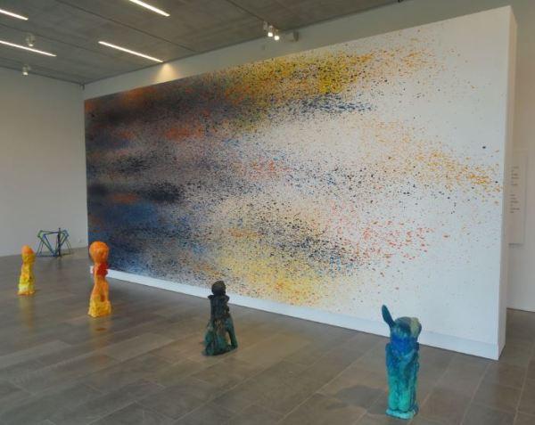 Emanuel Rössh. Audiencia. Con todos los colores de mis pinturas. 2012. Art Now. Museo Sven Harrys. Foto R.Puig.