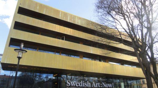 Fachada del Museo Sven Harrys. Estocolmo. Foto R.Puig