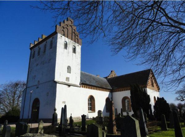 Iglesia caracteristica de Skane. Foto R.Puig