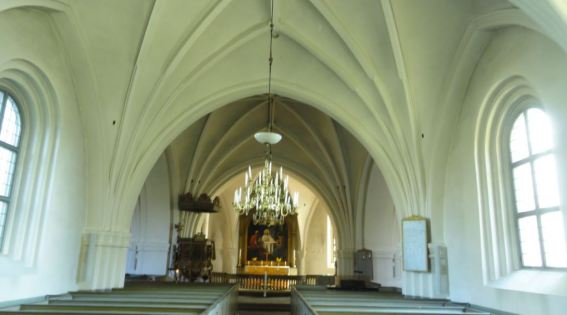 Iglesia de Löderup. Siglos XII a XV. Foto R.Puig