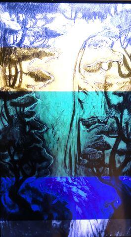 Nathalie Djuberg y Hans Berg. Variaciones de una cascada. Flautas. HD Video. b. 2015. Lissom Gallery y los artistas. Art Now. Museo Sven Harrys. Foto R.Puig