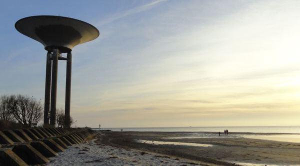Orilla del mar en Landskrona. Foto R.Puig