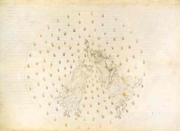 Botticelli. Paradiso VI.Museos Estatales de Berlin.