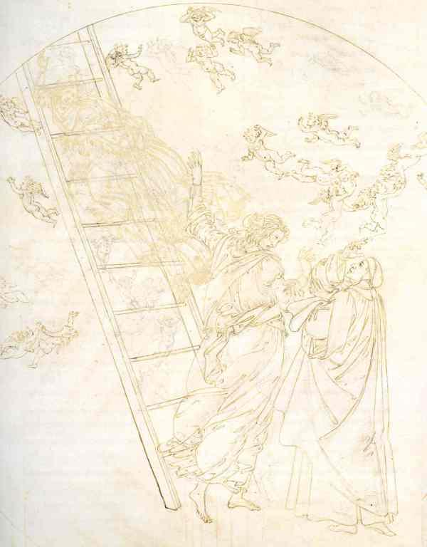 Botticelli. Paradiso XXI. Detalle.Museos Estatales de Berlín