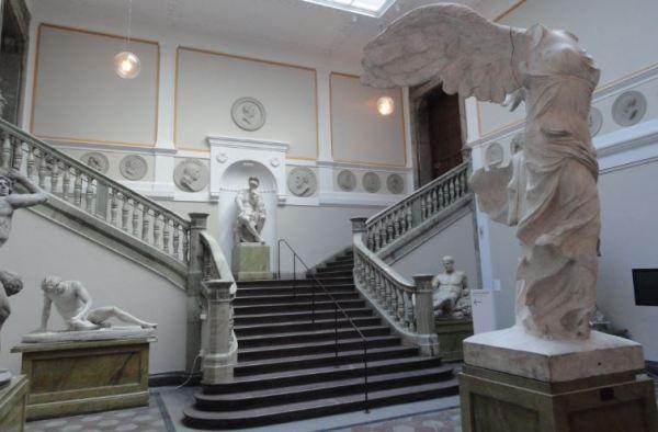 Gipsoteca y Hall de entrada. Academia de Bellas Artes. Estocolmo. Foto R.Puig