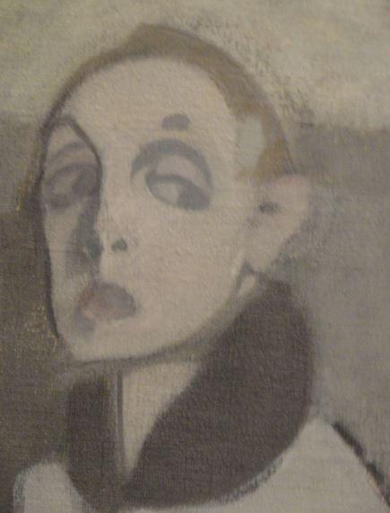 Helene Schjerfbeck. Autorretrato. Detalle. 1937. Museo de Arte Moderno. Estocolmo. Foto R.Puig