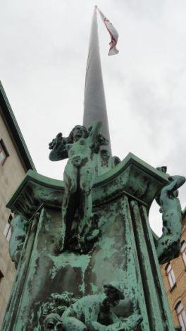 La Casa del Mundo. La enseña. Gotemburgo. Foto R.Puig