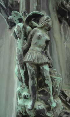 La Casa del Mundo.  Pedestal de la enseña.  Mujer polinesia.  Detalle. Gotemburgo. Foto R.Pui