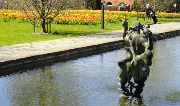 El estanque del Botánico. Gotemburgo. Foto R.Puig