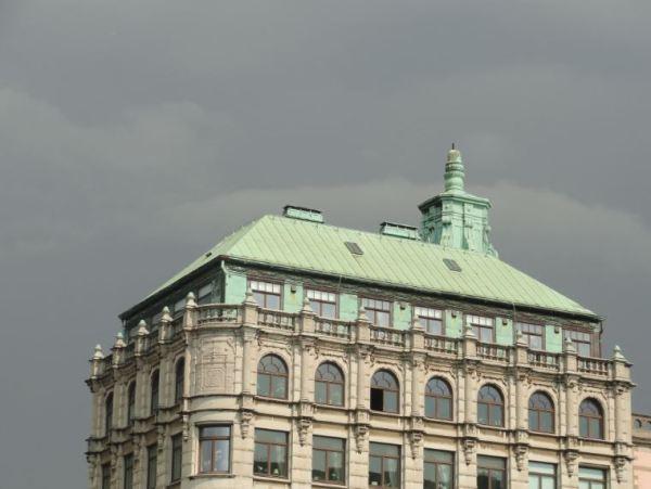 La tormenta se avecina. Gotemburgo.  Foto R.Puig