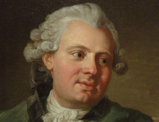 Lorens Pasch el joven. Retrato del grabador de monedas Gustav Ljungberger. 1770.Detalle. Academia de bellas Artes. Estocolmo. Foto R.Puig