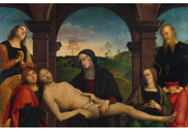 Perugino. Pietà. National Gallery of Ireland