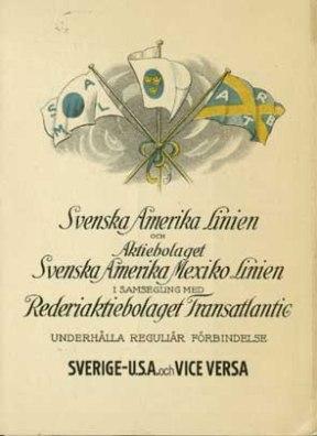 Cartel de la Svenska Linien