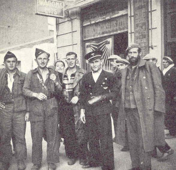 Brigadistas alemanes y checos en Valencia. Allan Vougt. Moskva Madrid. Stockholm 1938