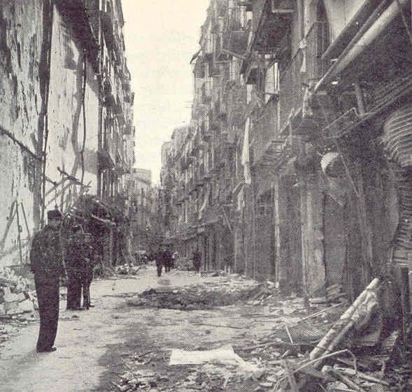 Calle Mayor de Lérida. Allan Vougt. Moskva Madrid. Stockholm 1938