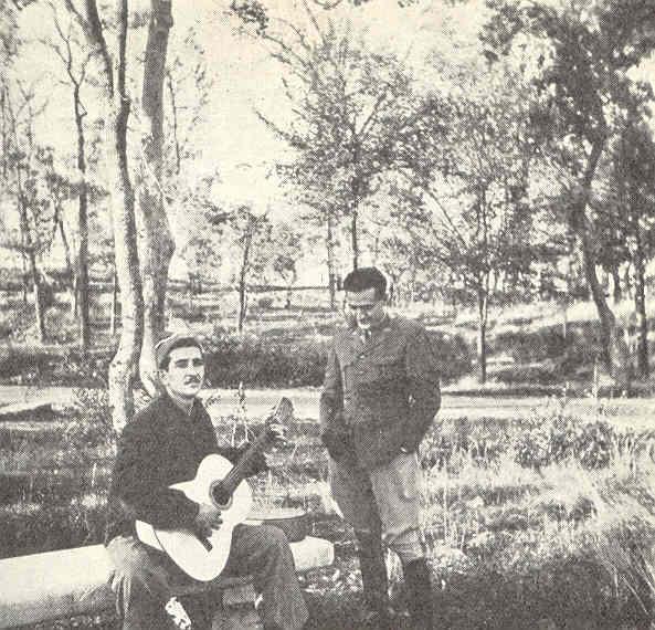 Domingo en la Casa de Campo de Madrid. Allan Vougt. Moskva Madrid. Stockholm 1938.