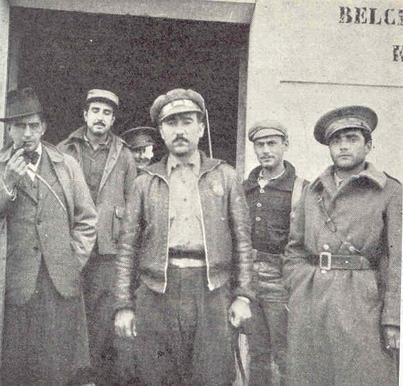 efe de Brigada en el frente de Zaragoza. Allan Vougt. Moskva Madrid. Stockholm 1938