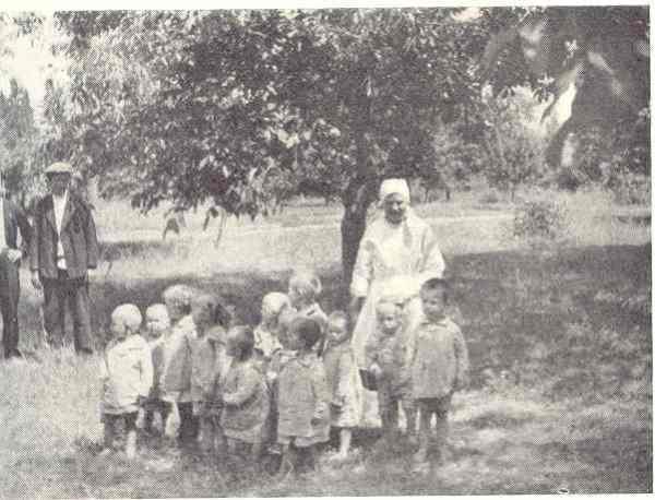 Niños de guardería en Bilsjovik. Allan Vougt. Moskva Madrid.