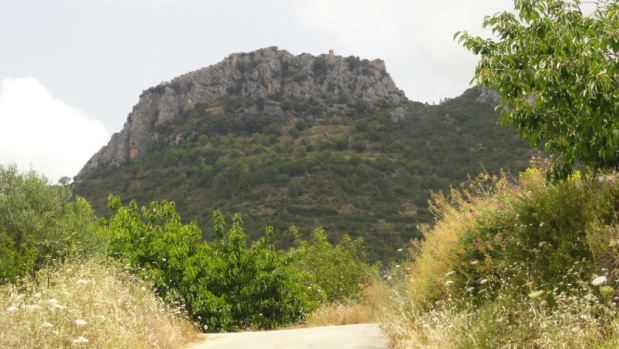 Camino del Castell de Benirrama. Foto R.Puig