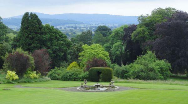 Desde la terraza de Stokesay Court. Foto R.Puig