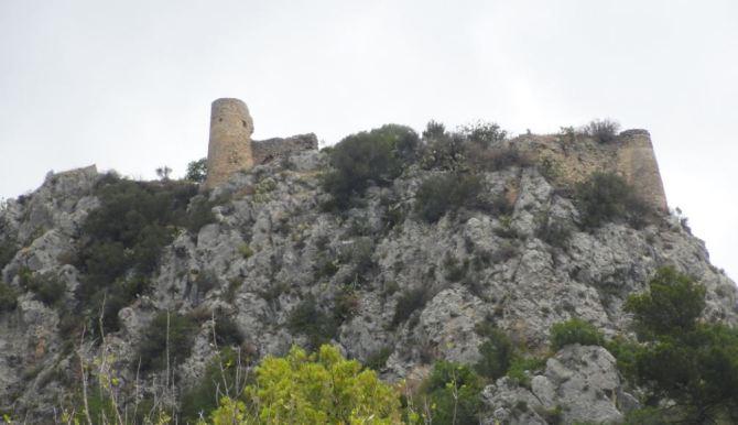 El Castell de Benirrama. Foto R.Puig
