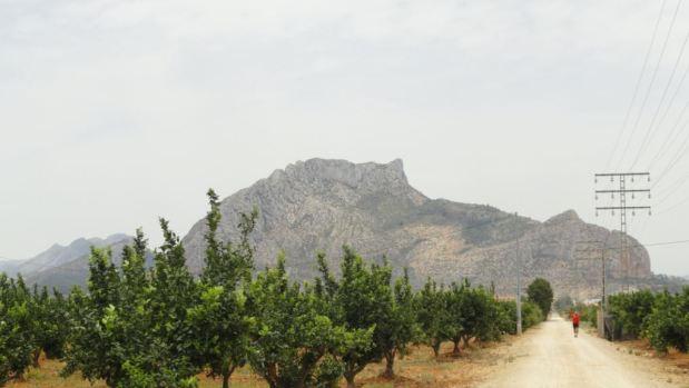 El Segaria desde la Vía Verde de Els Poblets a Denia.  Foto R.Puig