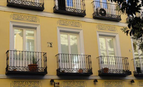 Madrid. Balcones.Foto R.Puig