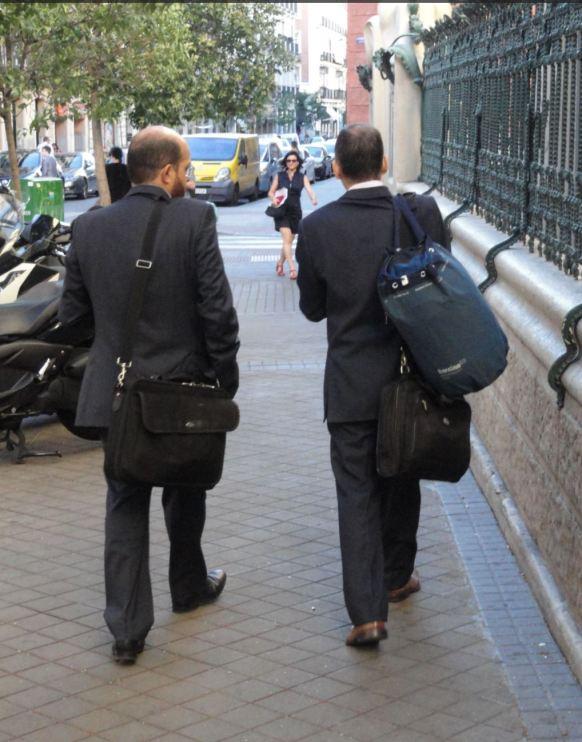 Madrid. Hacia el curro.Foto R.Puig