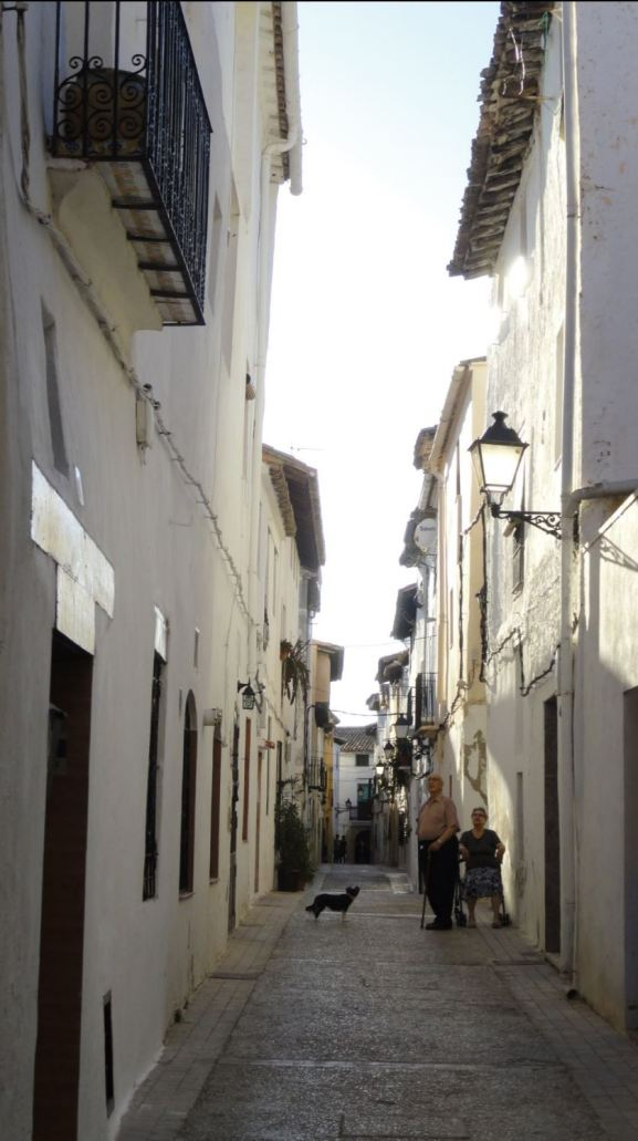 Requena. Calle Somera. Foto R .Puig