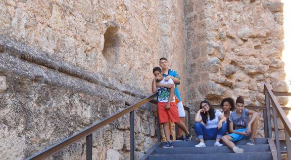 Requena. Juventud de vacaciones. Foto R.Puig