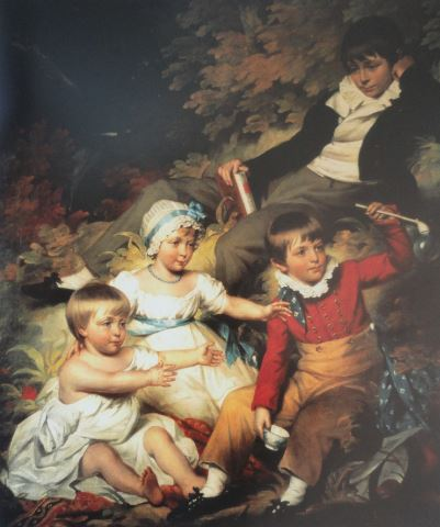 The Children of Sir Richard Croft by John James. 1803. Croft Castle. Herefordshire