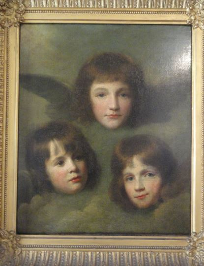 Tres eran tres las hijas del Reverendo Sir. Herbert Croft. Croft Castle. Foto R.Puig