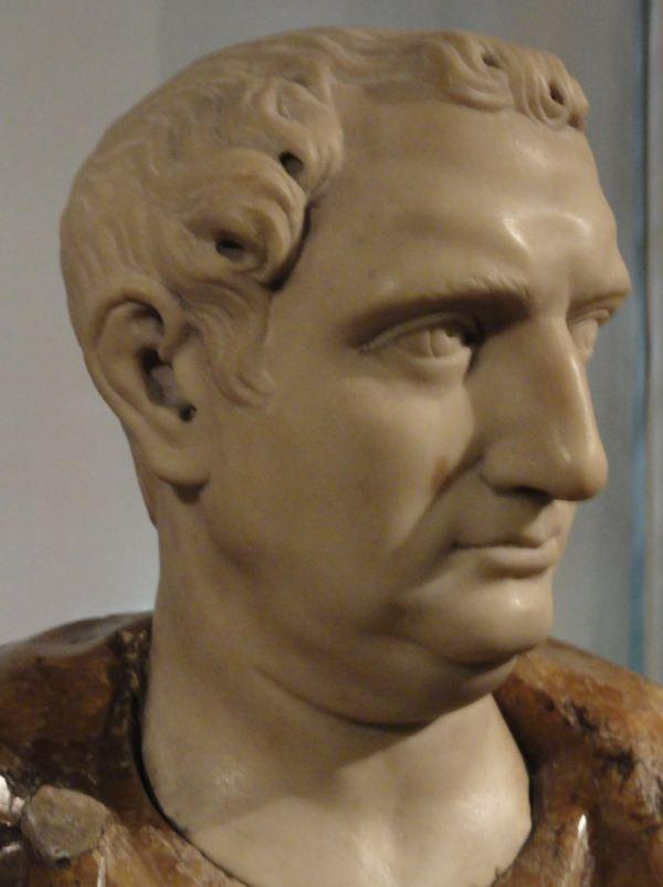 Anónimo del s.XVI. Busto de romano. Museo Lázaro Galdiano. Madrid. Foto R.Puig