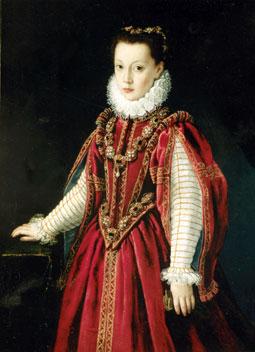 Atribuido a Sofonisba Anguissola. Retrato de joven dama. 1560. Museo Lázaro Galdiano. Madrid. Foto R.Puig