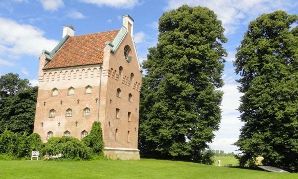 Borgebyslott. Lo que queda de las fortificaciones. Foto R.Puig