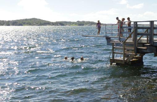 Chispas en el agua. Isla de Orust. Foto R.Puig