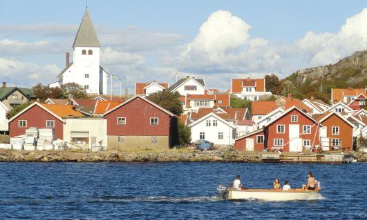 En la costa de Tjörn. Foto R.Puig