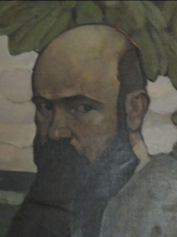 Ernst Norlinds. Autorretrato. Borgeby. Foto R.Puig