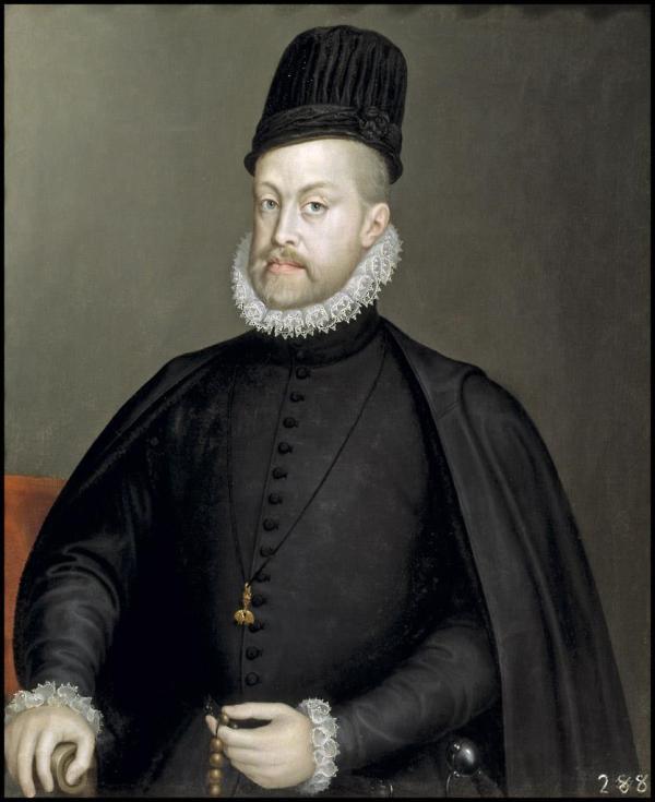 Felipe II por Sofonisba Anguissola. Museo del Prado