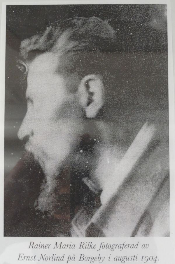 Foto de Rilke en Borgeby