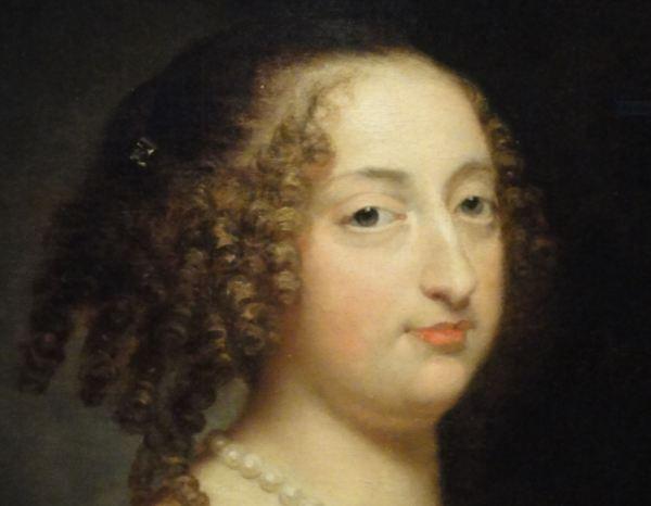 Justus Van Egmont. Retrato de dama. 1650 a 55. Museo Lázaro Galdiano. Madrid. Foto R.Puig